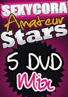 Sexy Cora: Amateurstars Mix Paket - 5 DVD Set