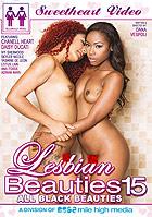 Lesbian Beauties 15 All Black Beauties DVD