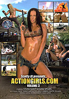 Actiongirls Volume 3 DVD