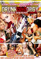 Drunk Sex Orgy - Sie saufen Sekt und Sperma