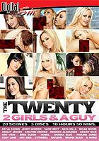The Twenty 2 Girls  A Guy - 3 Disc Set by Digital Sin