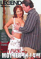 Dont Fuck My Mother In Law In The Ass DVD
