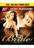 Nikki Benz in Angel Dark Buy A Bride  DVD + Blu ray Combo Pack