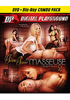 Gracie Glam in Jesse Jane The Masseuse 2  DVD + Blu ray Combo Pac