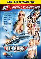 Kayden Kross in Top Guns  2 DVD + 1 Blu ray Combo Pack