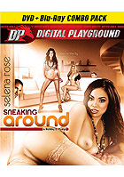 Selena Rose in Sneaking Around  DVD + Blu ray Combo Pack