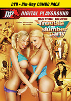 Marcus London in Trouble At The Slumber Party  DVD + Blu ray Combo