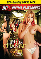 Kayden Kross Time For Change  DVD + Blu ray Combo  Cover