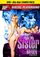 Kayden Kross Dont Fuck My Sister  DVD + Blu ray Co DVD