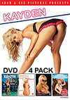 Kayden DVD 4 Pack - 4 Disc Set