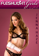 Jenna Haze in Fleshlight Girls Jenna Haze Swallow + 50ml Gleitge