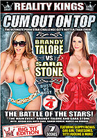 Cum Out On Top  Brandy Talore vs Sara Stone DVD
