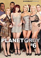 Planet Orgy 6 DVD
