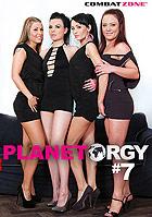 Planet Orgy 7 DVD