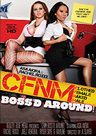 Asa Akira in CFNM  Clothed Female Naked Male Bossd Around