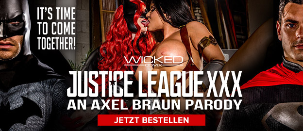 Justice Leage XXX Axel Brown Parody