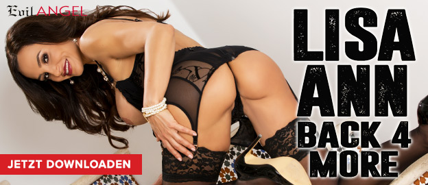 Evil Angel: Lisa Ann is back 4 more
